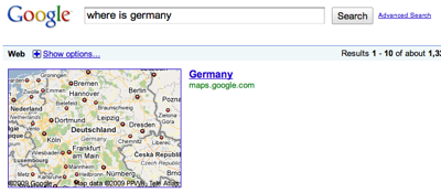 Google – Germany Location
